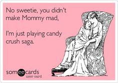 Candy Crush Saga Addicts Funny Haha