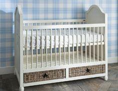 baby riviera maison wood rattan set up nursery A Star Is Born, 2016 Trends, Baby Boy Nurseries, Cribs, Shabby Chic, Interior Design, Furniture, Home Decor, Kids Rooms