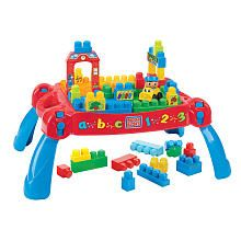 Mega Bloks Build N Learn Table Cool Toys For BoysMega BlocksFirst Birthday