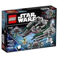 Star Wars Yoda's Jedi Starfighter 75168 Unforgettable Fans Star Wars Toy Ages 8+ #LEGO