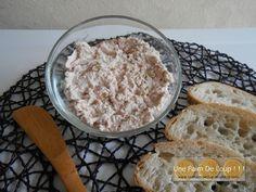 Rillettes de chorizo - Une Faim De Loup ! ! ! Nutella, Chorizo, Dips, Sushi Recipes, Charcuterie, Oatmeal, Vegetarian, Yummy Food, Sugar