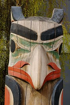 Alaska, Anchorage, Totem Pole | David Sanger Photography