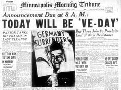 victory in europe day (v-e day) - Google Search