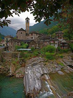 Lavertezzo in Verzasca Valley, Ticino, Switzerland.   THE LIBYAN  Esther Kofod  www.estherkofod.com