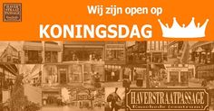 Op #Koningsdag zijn onze winkels geopend.   #Haverstraatpassage #Enschede (centrum).