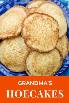 These hoecakes are just like grandma used to make. They are so crispy and delicious! Donut Recipes, Fish Recipes, Bread Recipes, Cooking Recipes, Recipies, Fried Cornbread, Jiffy Cornbread, Hoecake Recipe, Johnny Cakes Recipe