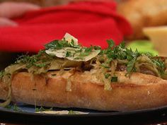 Johnnie C's Sweet Italian Sausage Subs with Fennel and Onions Recipe