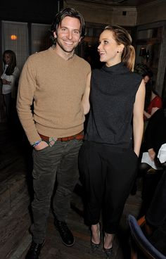Bradley Cooper and Jennifer Lawrence Do Dinner Before the BAFTA
