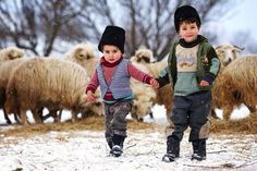 winter in romania Beautiful Places To Visit, Beautiful World, Romania People, Romanian Girls, Macedonia, Little People, Albania, In This Moment, Children
