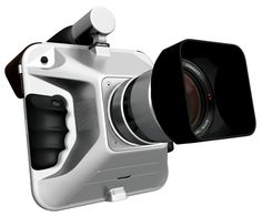 2012 red dot award winning camera concept. Large-format photography, done digital