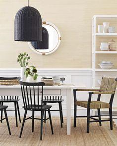 Newbury Dining Table and Tucker Chairs | Image via #serenaandlily