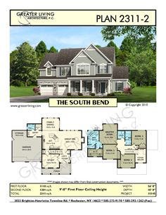 Plan 2311-2: THE SOUTH BEND
