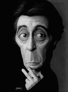 Al Pacino  Artist: Tiago Hoisel  website: http://hoisel.zip.net/