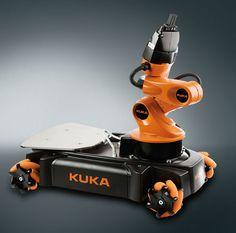 Plataforma móvil youBot KUKA Roboter