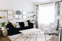 Updating your living room on a budget!