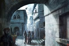 Assassin's Creed Art & Pictures  Acre Alley