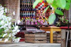Flower Farm, September, Table Decorations, Flowers, Furniture, Home Decor, Essen, Decoration Home, Room Decor