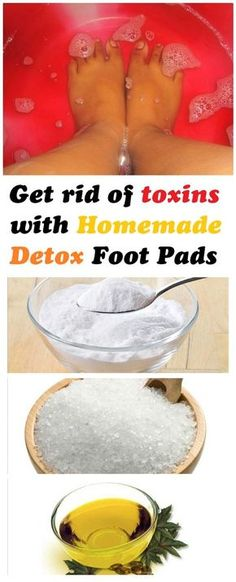 Get rid of toxins with Homemade Detox Foot Pads - Beauty of the Skin