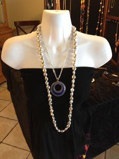 Double Take Enhancer; Silver Chic necklace How awesome is this. billn9638@msn.com