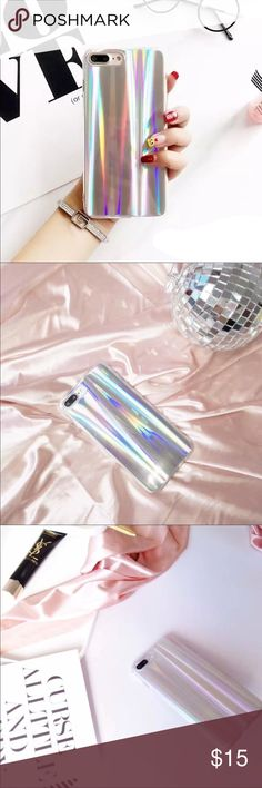 ❗️NEW ARRIVAL❗️Hologram Phone Case BNWT, Awesome looking holographic Phone Cases for an IPHONE 6 plus. This is an incredibly stylish case to put on your phone that is destined to draw massive attention to your phone and lots of compliments! Free gift with purchase Accessories Phone Cases