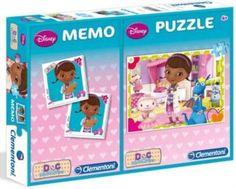 Dětské puzzle + pexeso: Doktorka Plyšáková, 60 dílků