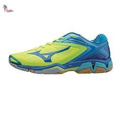 Mizuno Wave Stealth 3, Chaussures de handball hommes Bleu