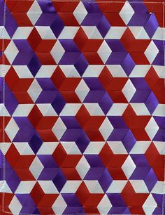 weaving with ribbon - AOL Image Search Results Star Quilt Patterns, Star Quilts, Weaving Patterns, Ribbon Art, Fabric Ribbon, Ribbon Crafts, Paper Weaving, Weaving Art, Fabric Weaving