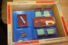 Vintage Lisa of Denmark Dark Red Dining Room Set Mint in Box 1 16 | eBay