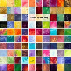 "100 Piece Benartex FOSSIL FERN Precut 5"" Charm Pack Fabric Quilting Squares"