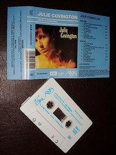 JULIE COVINGTON SELF TITLED Cassette Tape TAN#622