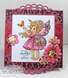 Danni's Dreams: Wishing you a beautiful day full of butterflies