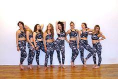 #squadgoals | @liveohmk eco elephant crop + pants | #liveohmk #girlpower #sashayogawellness #yoga #ecochic
