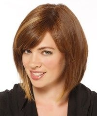 Simple and Straight Hairstyles