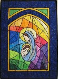 backlit stained glass quilt - Google Search