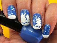 X-mas Nails from http://polishcookies.blogspot.com/