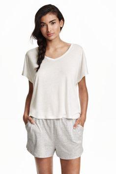 Pijama con pantalón corto | H&M