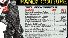 Total body workout by Randy Couture - The Expendables - MMA