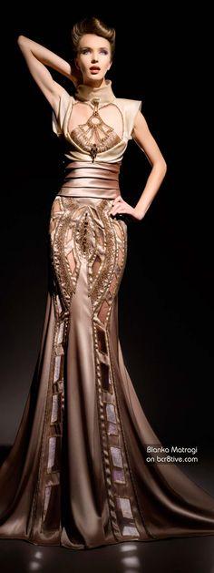 WOW...WOW..Blanka Matragi 30th AnniversaryHaute Couture Collection