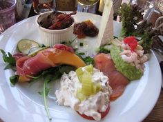 Lunch at Czarens Hus in Nykøbing Falster.