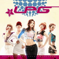 """LPG / LPG (an acronym for """"Lovely Pretty Girls"""") is a manufactured girl group inspired by the success of """"semi-trot"""" singer Jang YoonJung."""