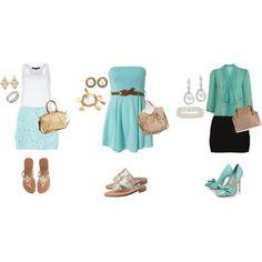 Love the aqua color scheme