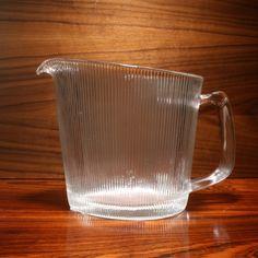 A glass jug. * Designer: Willy Johansson * Series: Siri * Producer: Hadeland * Country: Norway * Year: 1954 * Size: H. Glass Jug, Scandinavian Design, Norway, Vases, Art, Art Background, Kunst, Performing Arts, Vase