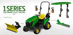 Johnny Bucket Front Loader Attaches To A Lawn Tractor