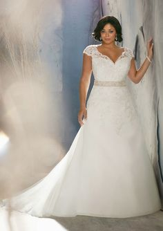 Plus Size Wedding Dresses from Julietta by Mori Lee