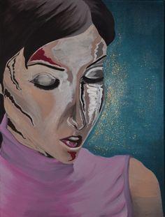 Deep-Reflection (2007) 60x80 #Acrylic
