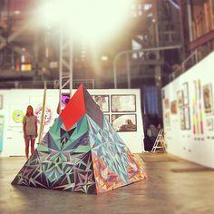 New work by Element Eden advocate, artist Brooke Reidt for Billabong's Design For Humanity.