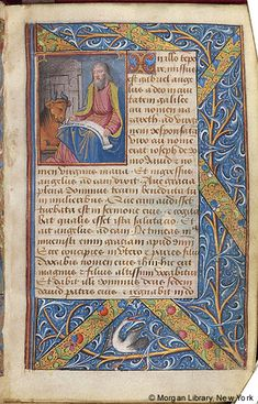 Book of Hours, MS M.160 fol. 2r - Images from Medieval and Renaissance Manuscripts - The Morgan Library & Museum
