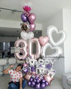 Birthday girl outfit 27 new ideas Birthday Goals, 30th Birthday Parties, Birthday Diy, Birthday Party Decorations, Girl Birthday, Birthday Wishes, Balloon Gift, Balloon Garland, Balloon Decorations