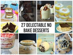 27 delectable no-bake desserts
