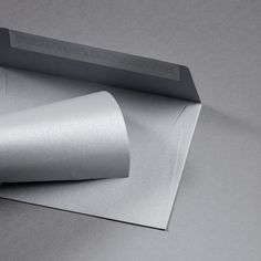 Metallics gebürstet Hülle DIN C6